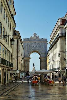 Portugalia, Lizbona, Rua de Augusta