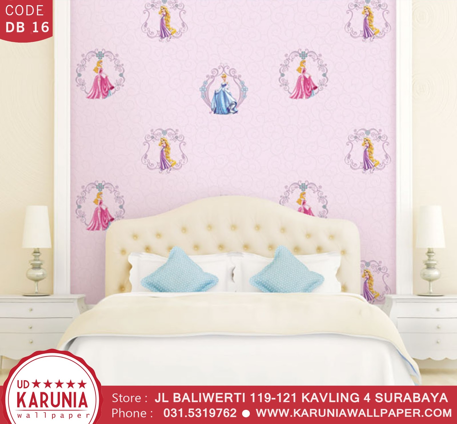 jual wallpaper princess disney surabaya karuniawallpaper