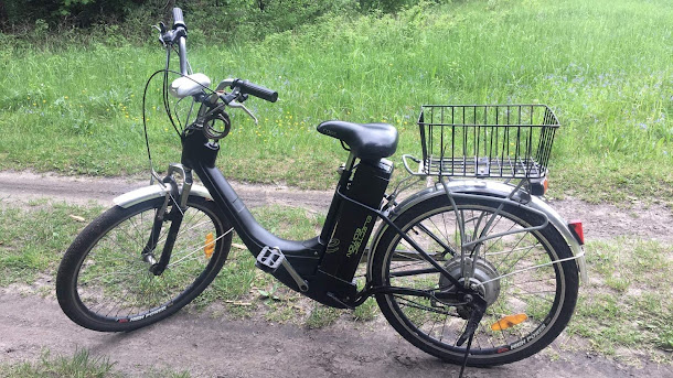 Rower Elektryczny  E-Code
