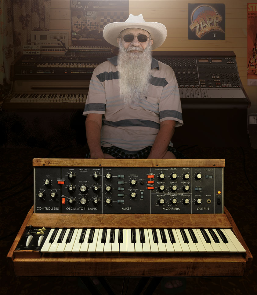 """Funk Darker is the brainchild of longtime Minnesota resident Josh Beardman, also known as the """"Funky Hermit"""" or """"Grandpa Groove"""". After a solid 50 years of vinyl collecting (first Funk, Soul, and Psychedelica, then Dub, Jazz & Hip-Hop) and messing around with Moogs the now 69-old finally is ready to put his own music out"""