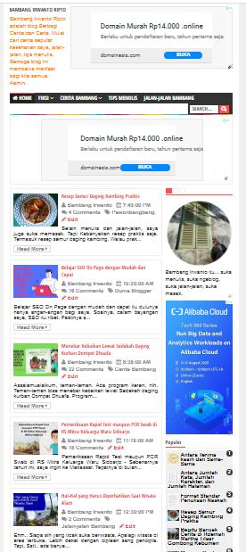 hal-hal yang harus diperhatikan agar pengunjung blog betah