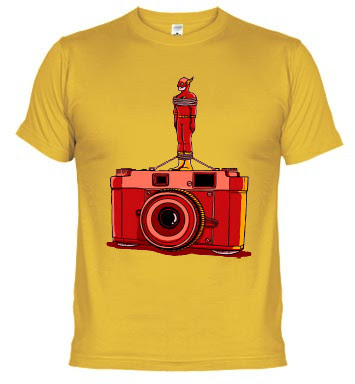 Camiseta Flash camera