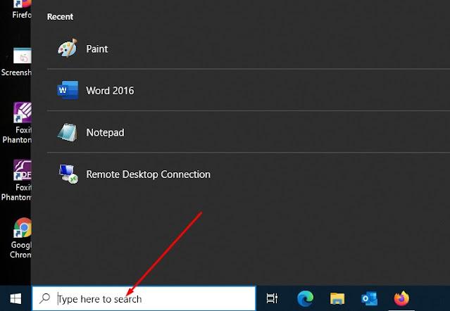 Cara Menghapus Search Box Windows 10 dari Taskbar