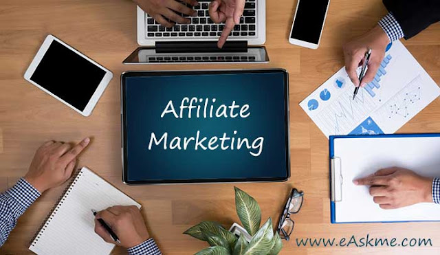 What is Affiliate Marketing and Affiliate marketing FAQ: eAskme