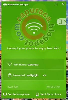 Cara transfer file melalui WiFi