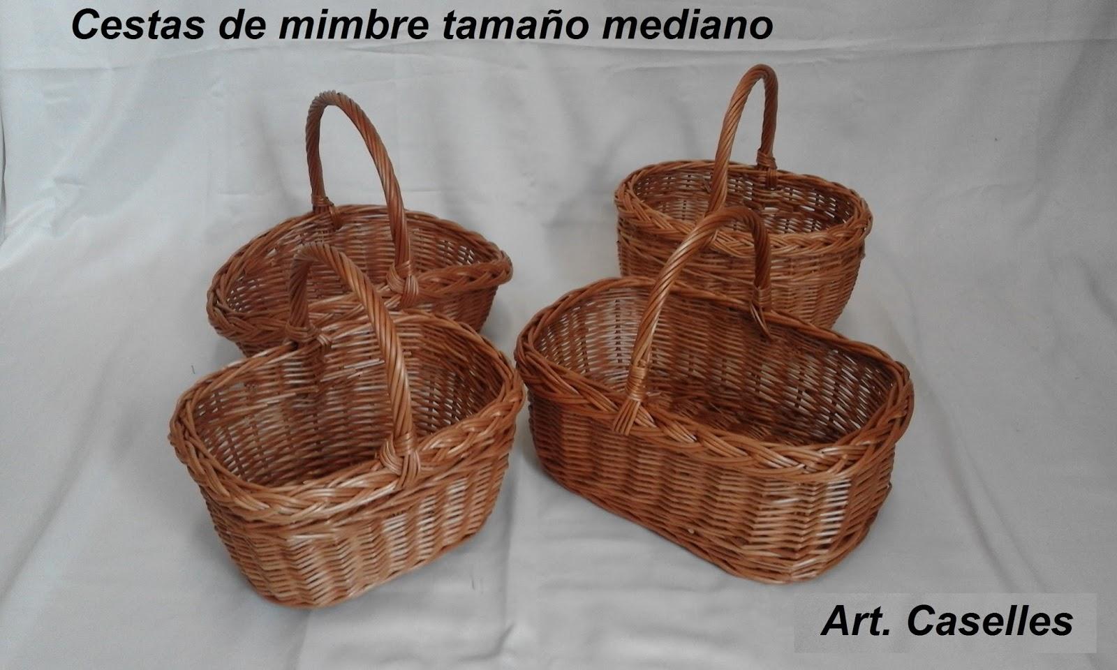 Cestos de mimbre cestas de mimbre peque as - Cestas de mimbre pequenas ...