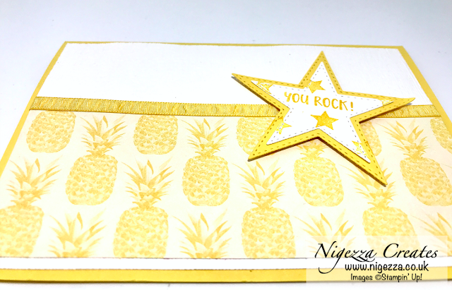 Nigezza Creates with Stampin Up & Tropical Oasis & Stitched Star Dies