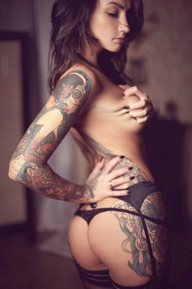 Anzhelika Enders (Angelskaya) | Sexy Tattooed Girls | Women Tattoos