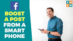 How To Boost A Facebook Post From A Smartphone