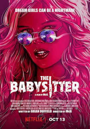 The Babysitter 2017 WEB-DL 300Mb Hindi Dual Audio 480p
