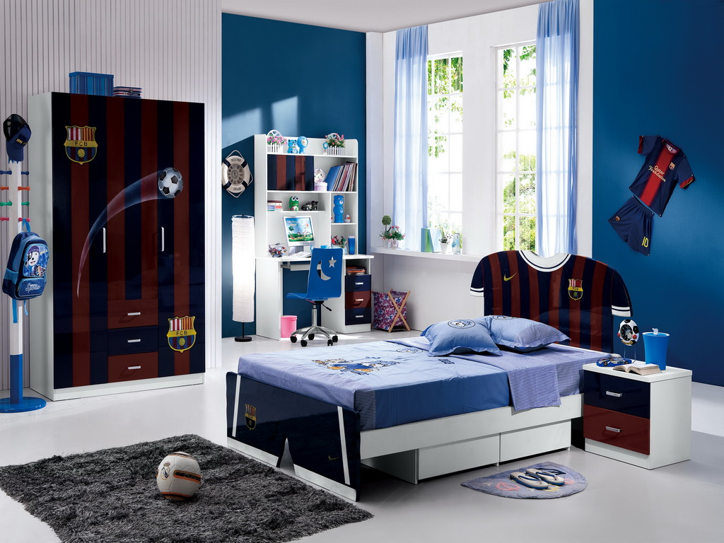 Fun And Cool Teenage Boy Room