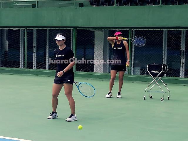 PSBB, Tim Kepelatihan Arahkan Latihan Mandiri pada Atlet Pelatnas Tenis