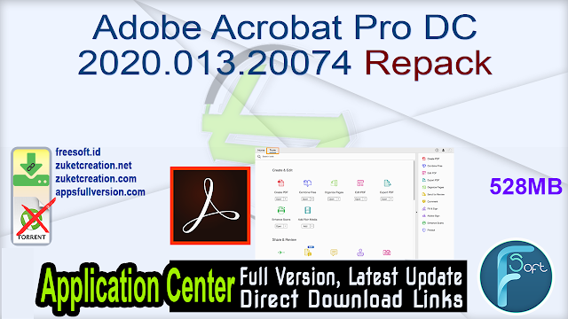 Adobe Acrobat Pro DC 2020.013.20074 Repack