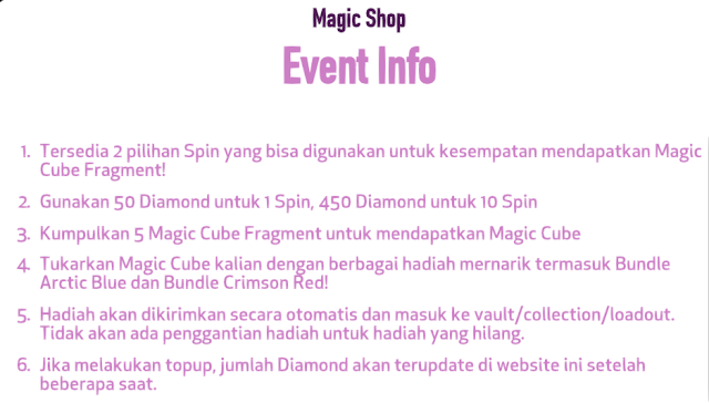 Magic Shop 3.0 Bundle Arctic Blue dan Crimson Red Terbaru