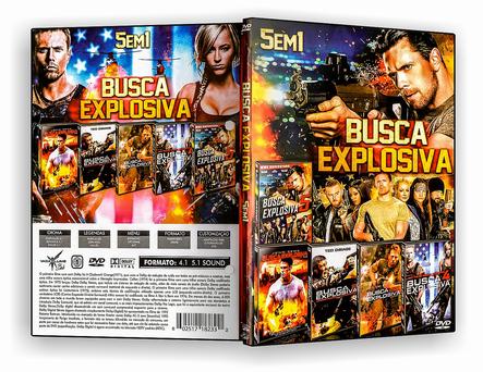 CAPA DVD – Coleção – Busca explosiva – ISO
