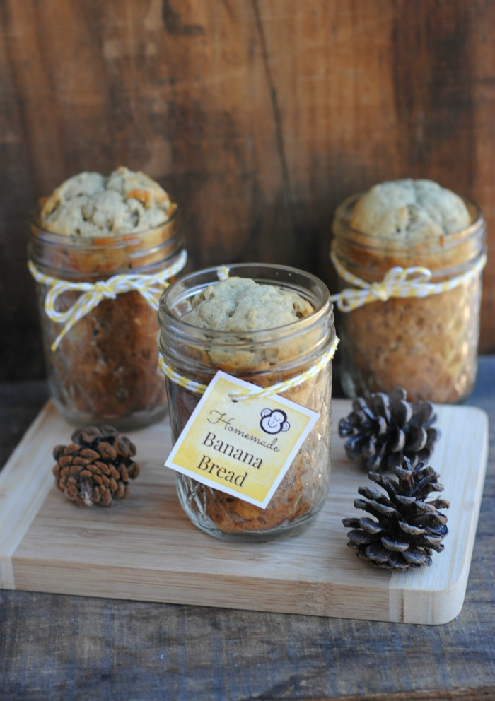Banana Bread Gift Jar