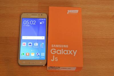Especificaciones Samsung Galaxy J5