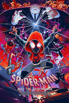 Spider-Man: Into the Spider-Verse Screen Print by Martin Ansin x Mondo x Marvel