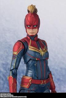 S.H. Figuarts Capitana Marvel - Tamashii Nations