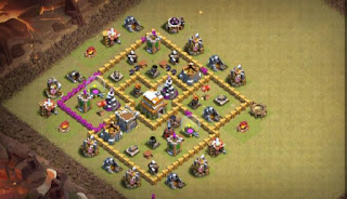 Best Town Hall 6 TH6 War Base Layout