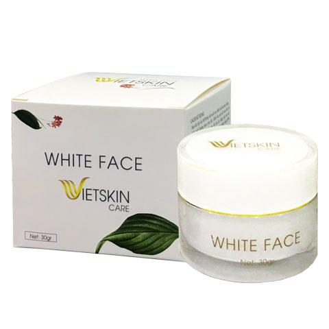 White Face Vietskin Care, mặt nạ chăm sóc da, giúp làm sạch và dưỡng da
