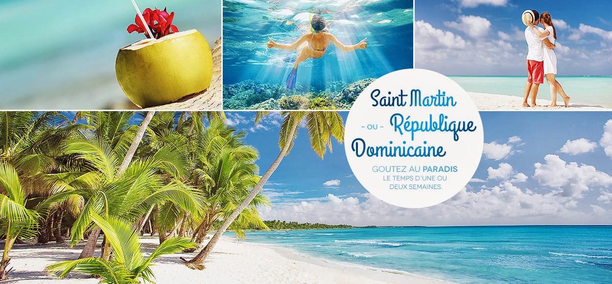 VentePrivée Caraibes - Saint Martin et République Dominicaine - Punta Cana et Anse Marcel