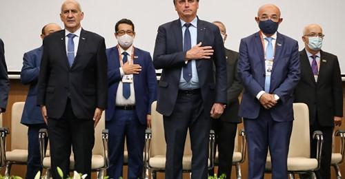 Bolsonaro participa de Convenção da Assembleia de Deus, em Salvador