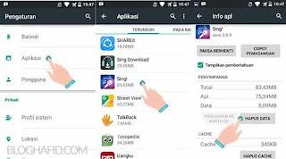 aplikasi yang memungkinkan kita melakukan karaoke sesama pengguna android yang tentunya m Cara LogOut ( SignOut ) Smule di Android