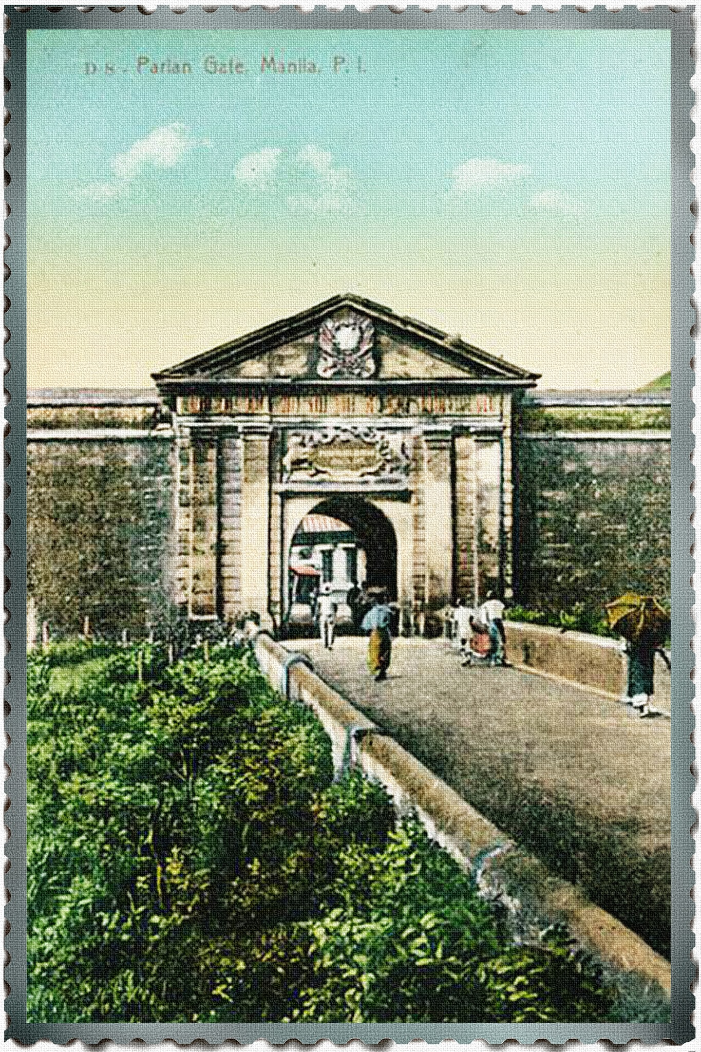 Parian Gate, Manila