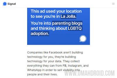 Iklan Instagram Data Pengguna Aplikasi