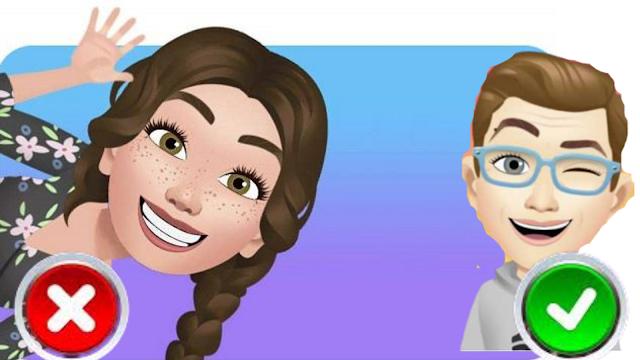 طريقة عمل avatar facebook بالصور 2020
