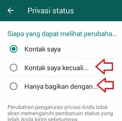 Cara Menyembunyikan Info Status Wa Dari Orang Lain Yang Kepo Status