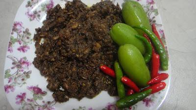 Resepi Sambal Hitam Pahang