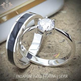 Cincin tunangan,cincin pernikahan