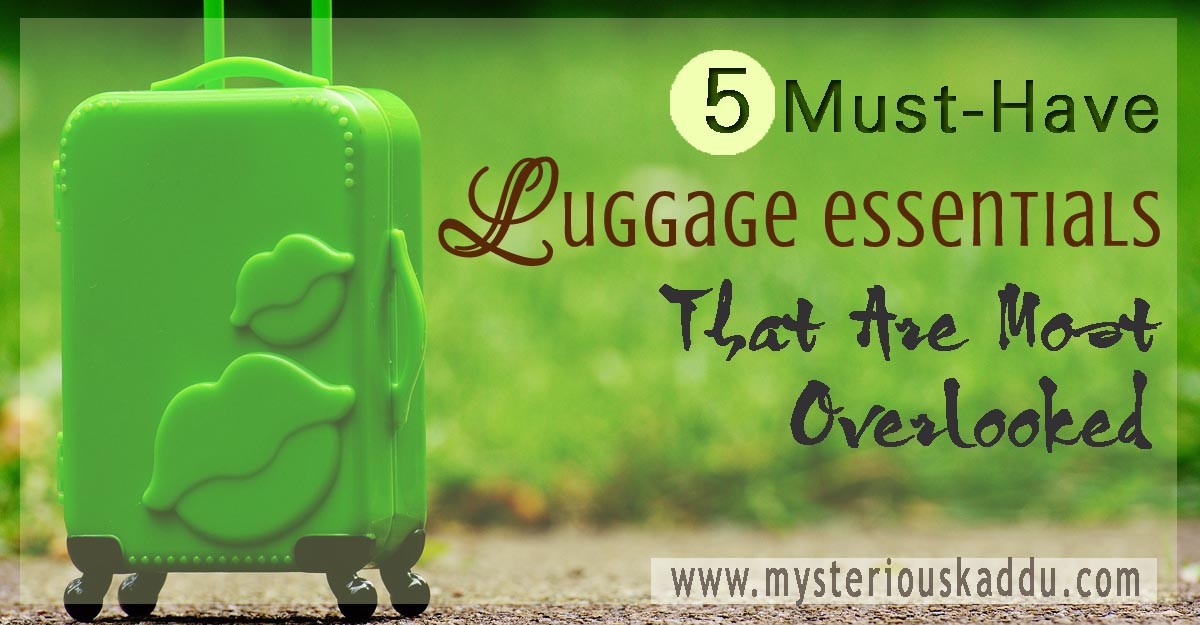 5 Must-Have Luggage Essentials That Are Most Overlooked | Best Luggage For Easy Travel