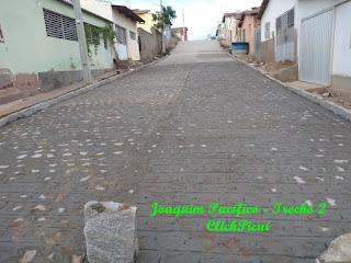 Em Picuí, pavimentação de rua é concluída e outras estão em fase de conclusão