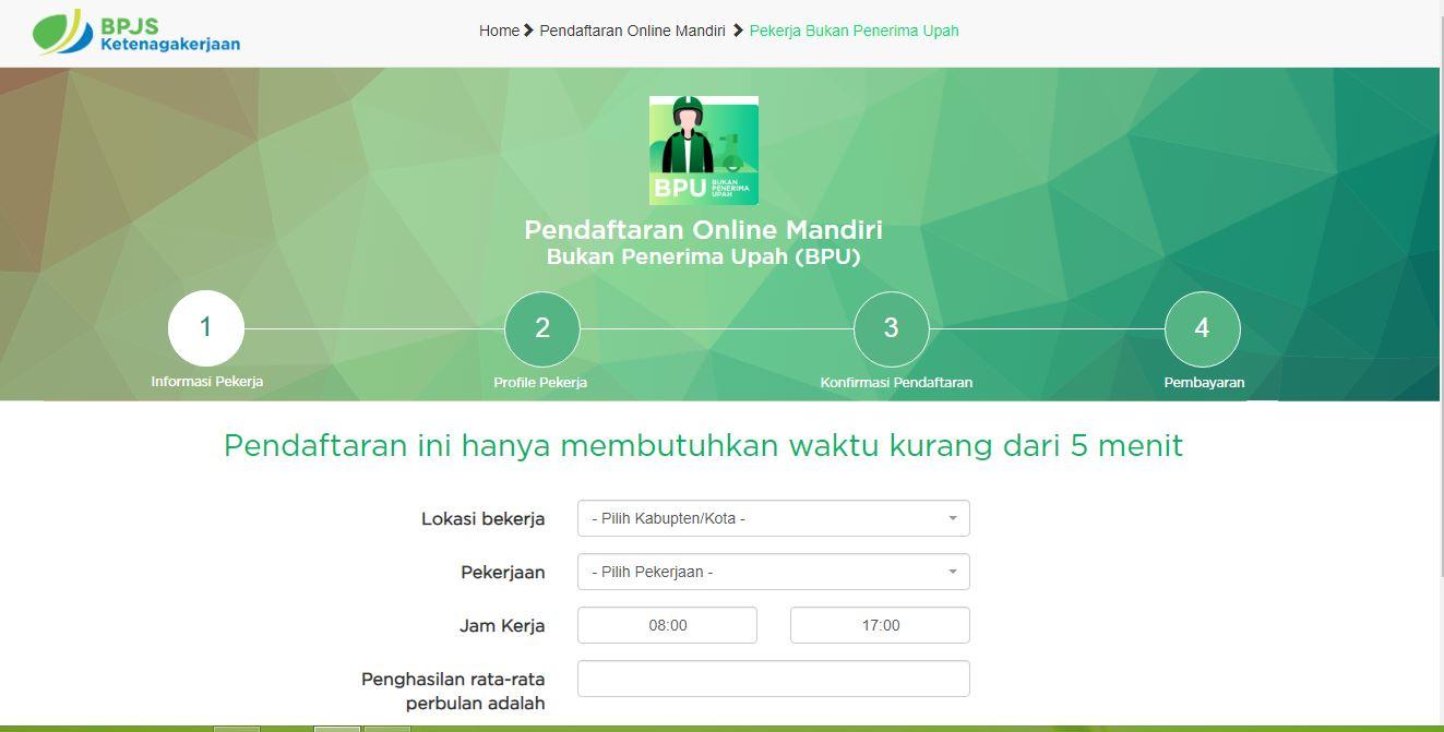 Cara Daftar BPJS Ketenagakerjaan Online 2020