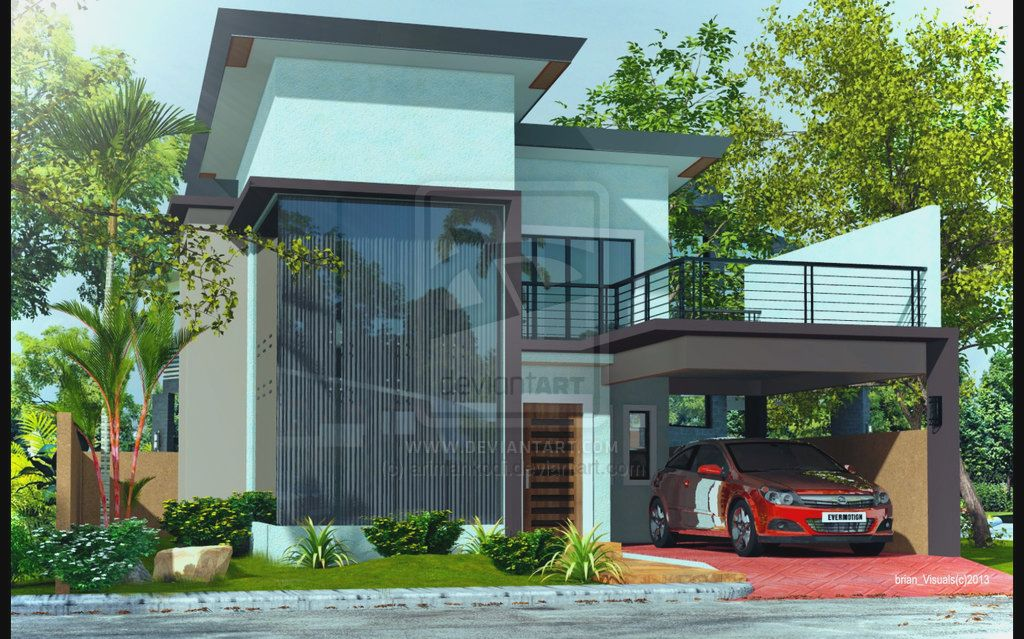 2 story house simple design modern two storey house design modern world home interior Picture - 41+ Two Story Modern Small House Design Pictures