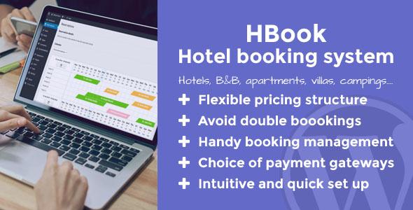 Download HBook v1.9.2 - Hotel booking system - WordPress Plugin
