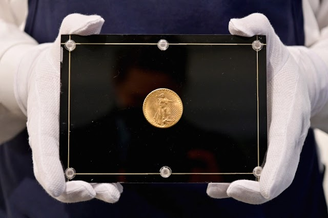 American Gold coin 'Double Eagle' is up for Auction for more than $10M