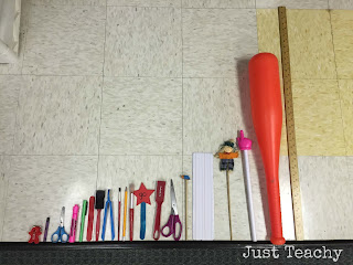 Comparing length with classroom objects