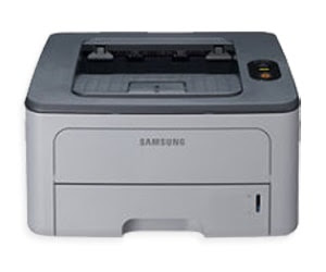 serial Monochrome Laser Printers amongst the functioning of a compact Light Amplification by Stimulated Emission of Radiation printer delivers Samsung Printer ML-2450 Driver Downloads