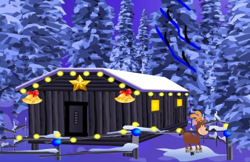 Play KNFGame Winter Deer Escape