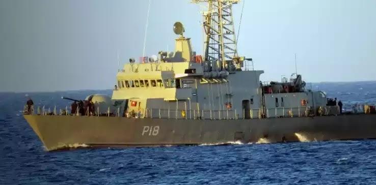 Πρωτοφανές επεισόδιο: Τουρκικό εμπορικό πλοίο εμβόλισε την κανονιοφόρο «Αρματωλός»