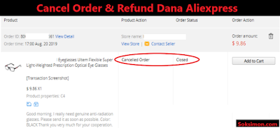 Refund Dana Aliexpress 100% Work