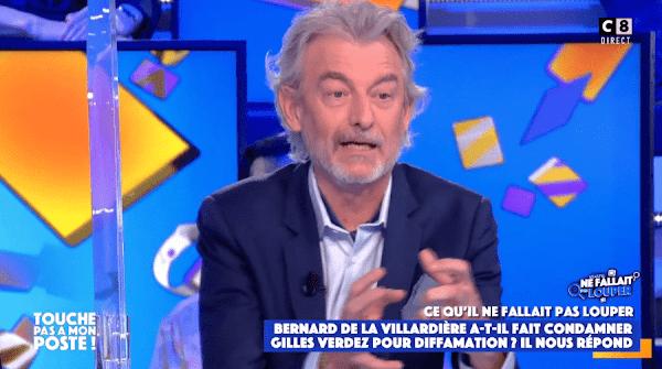 Gilles Verdez condamné pour diffamation après avoir traité Bernard de la Villardière d'islamophobe