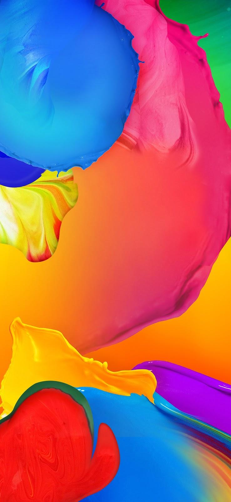 Wallpaper, sfondi iPhone, astratto, colori