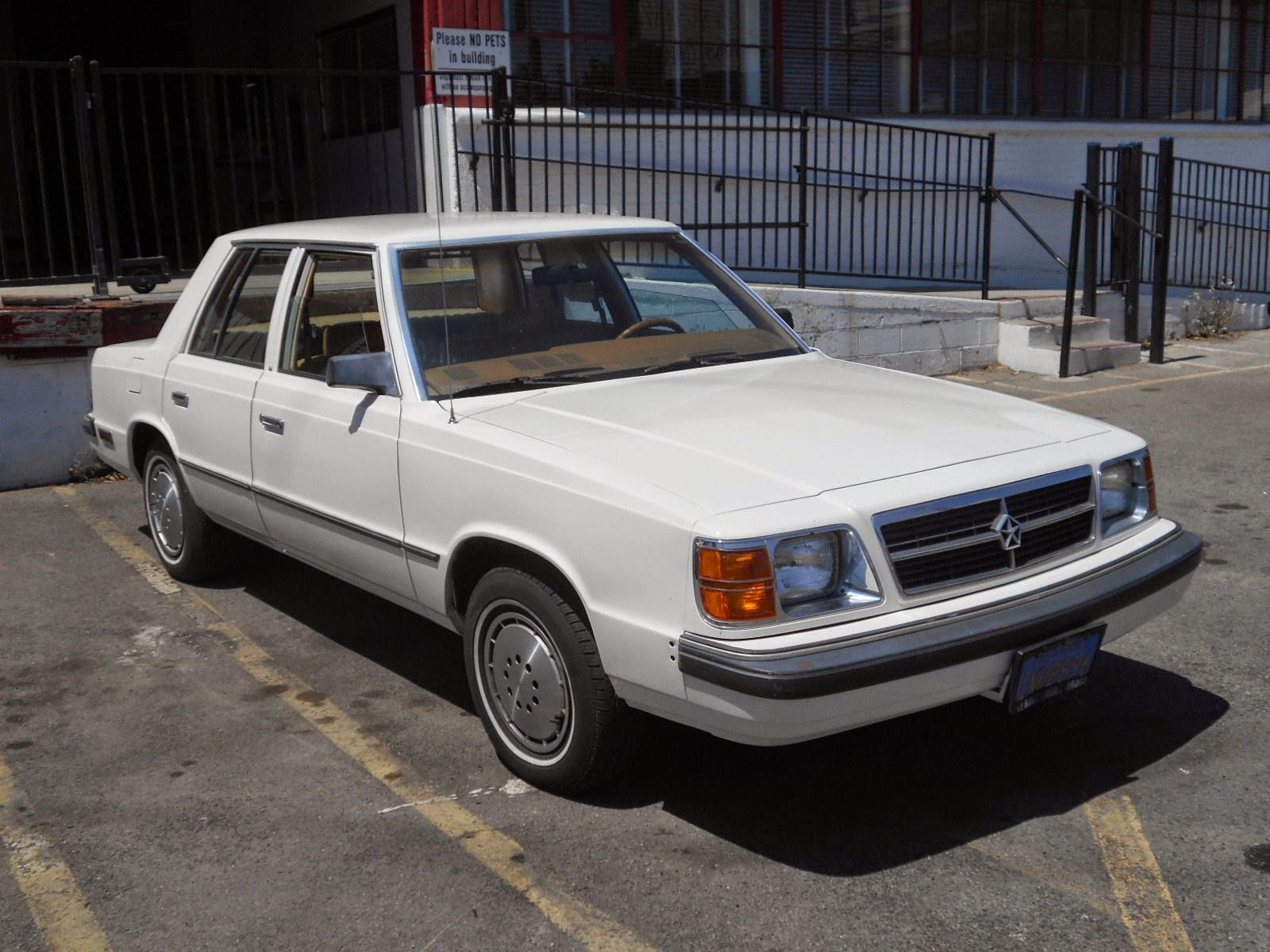 Daily Turismo K Is For Krap 1985 Dodge Aries K Car