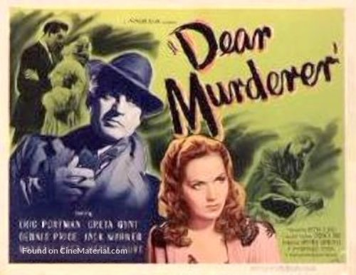 Watch Dear Murderer (1947) Full Streaming Movies (Public-domain)