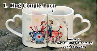 Mug Couple Lucu Untuk Hadiah Pernikahan Temanmu Yang Baru Menikah